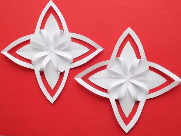 Поделки из бумаги на Новый год: как создать праздничный декор своими руками (80 фото)