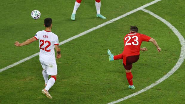 Швейцария— Турция: Шакири увеличил преимущество швейцарцев