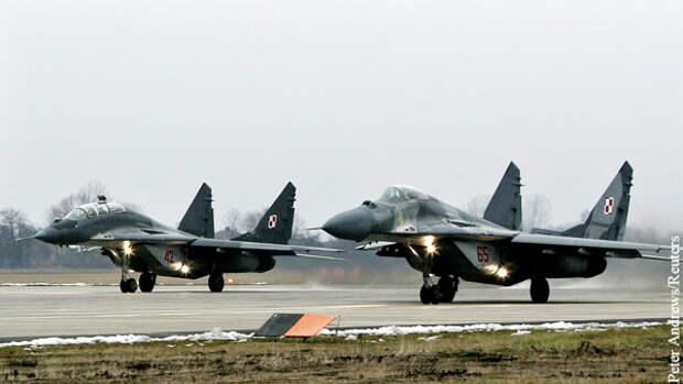 Варшава заявила о желании польских пилотов летать на МиГ-29