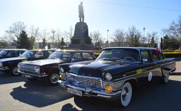 Когда в Севастополе можно будет погонять на ретро автомобилях?