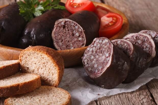 кровяная колбаса рецепт приготовления
