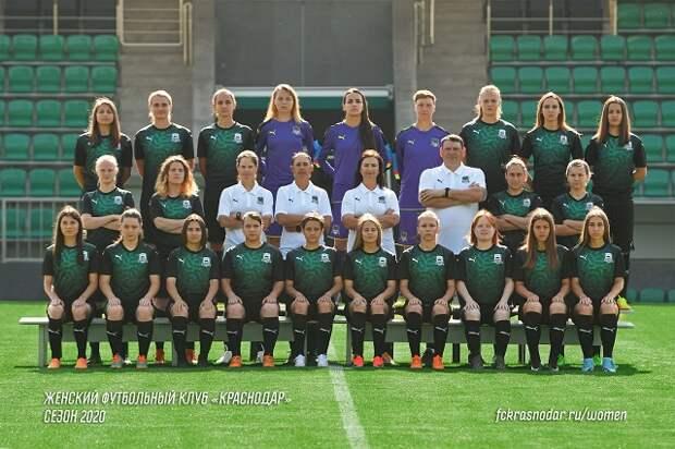 В ФК «Краснодар» представили женскую команду