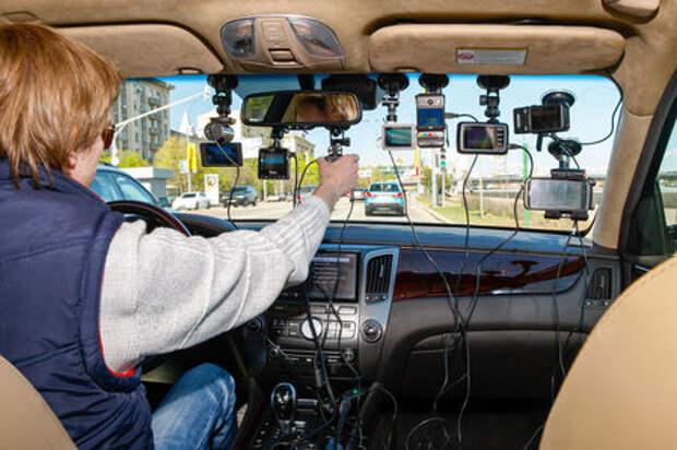Выяснилось, как водители используют видеорегистраторы