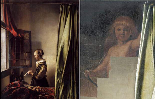 Какую загадку скрывает занавес на картине Вермеера «Девушка, читающая письмо у открытого окна»
