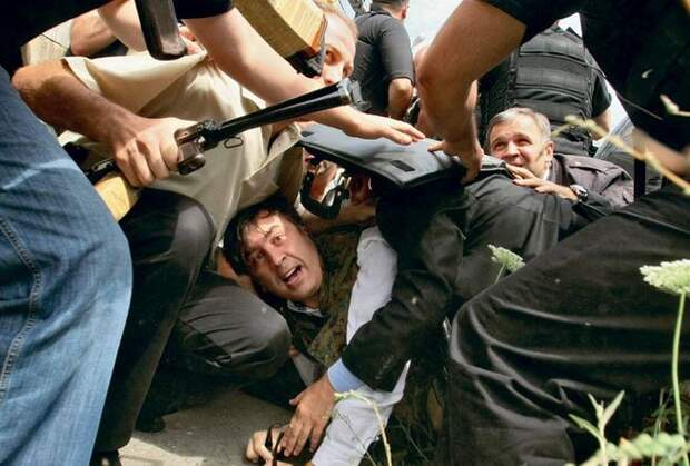 Саакашвили: В США был разработан план захвата Донецка
