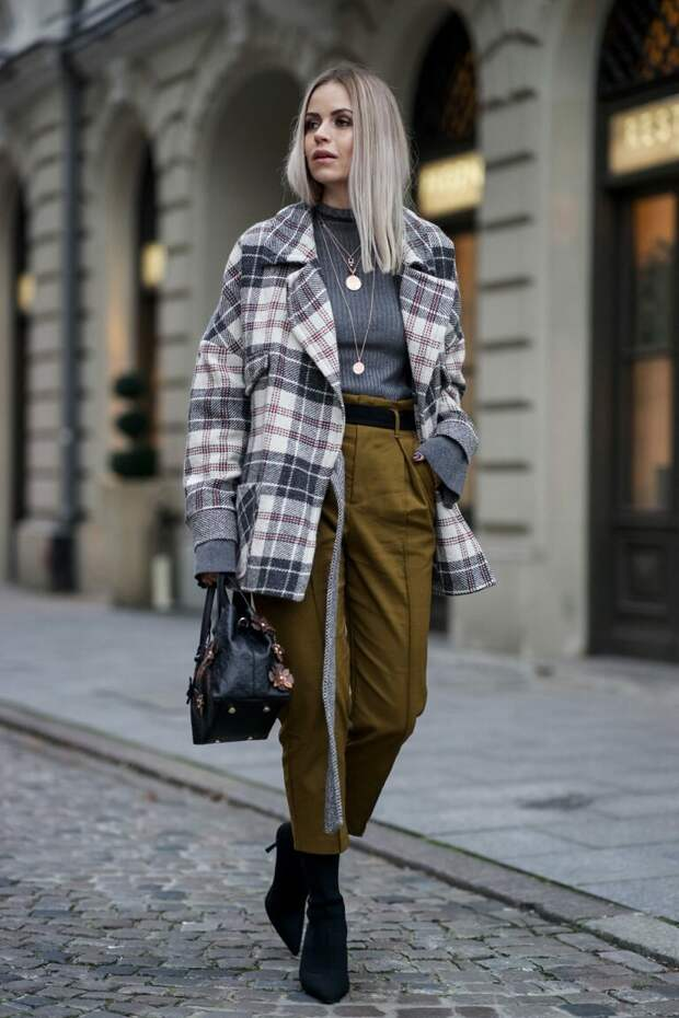 С чем носить куртку-рубашку? /Фото: fashion-likes.ru