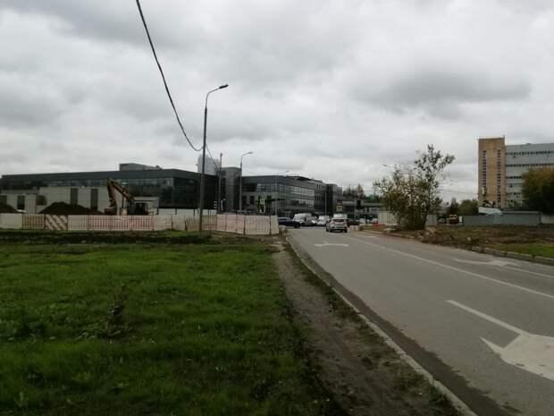 Светофор отрегулировали в проезде Нансена