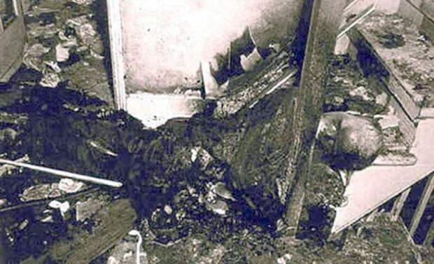 Странный случай самовозгорания Роберта Бейли