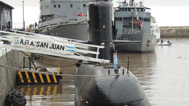 Подводная лодка Сан-Хуан ВМС Аргентины