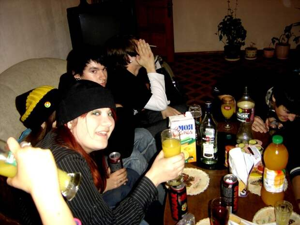 Молодёжные пьянки и вечеринки