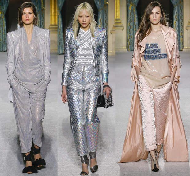 Модные женские брюки Balmain
