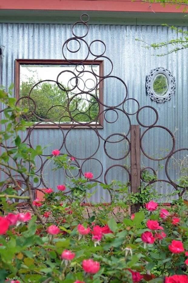 Идеи опор для вьющихся растений и лиан