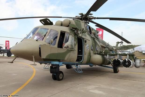 Для российского спецназа разработали новый вертолет Ми-8АМТШ-ВН