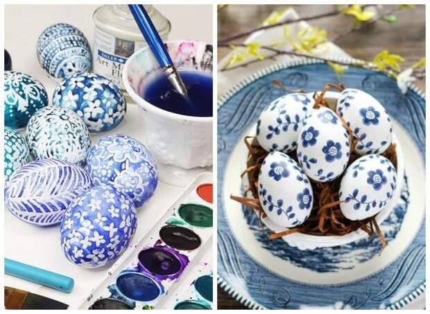 В сине-бело-голубой гамме