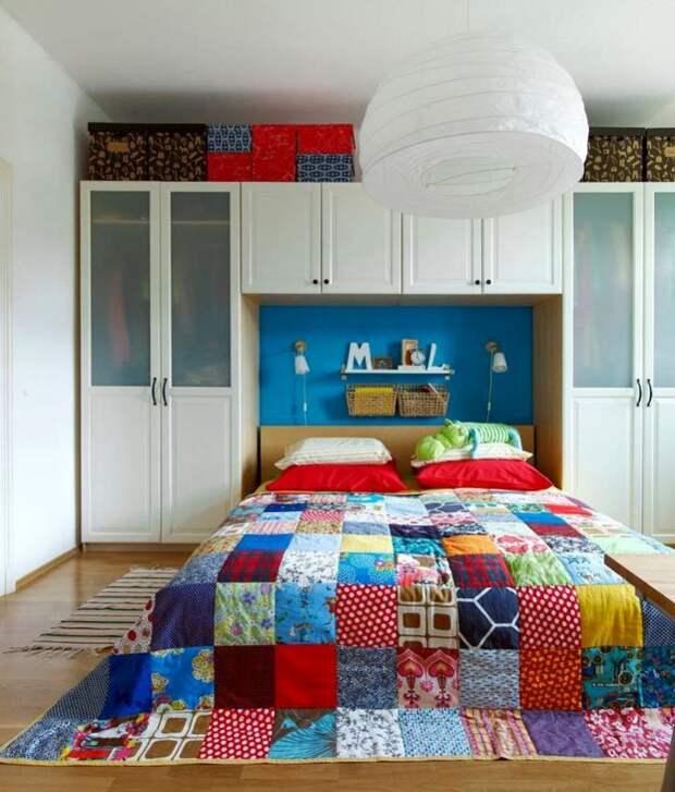 Пэчворк... спальня (подборка)
