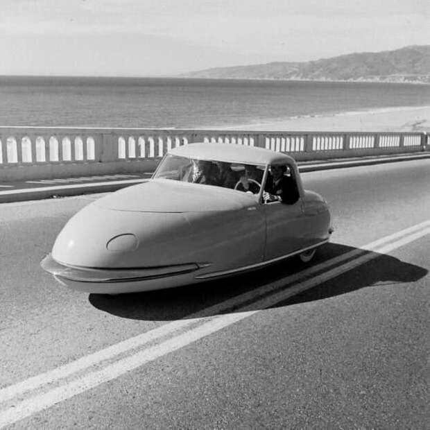 Davis Divan Sedan (1948) автомир, аэродинамика, из прошлого, конструкция, обтекаемость. формы