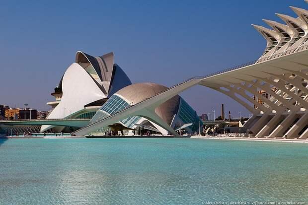 Океанографический парк в Испании