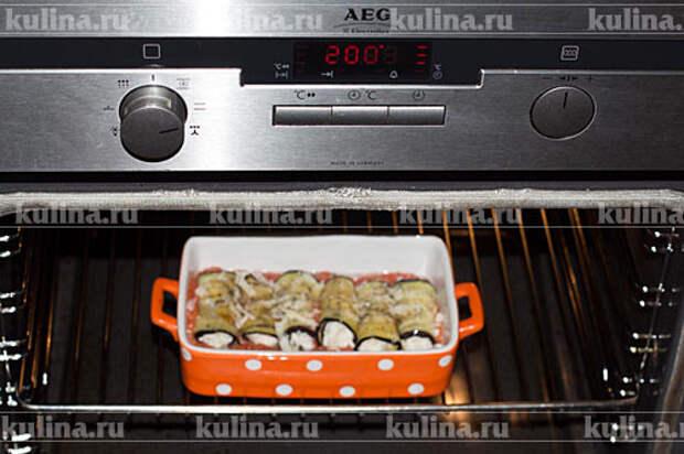 Запекать в духовке 5-7 минут.