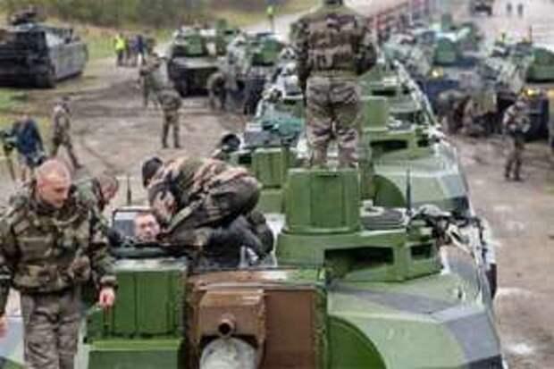 НАТО скрытно разворачивает у границы с Россией наступательные силы