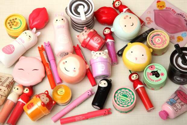 Помимо экологичности, корейская косметика упаковывается в забавные баночки