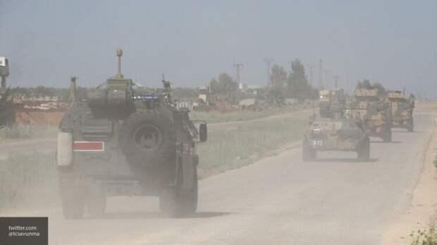 Военная полиция РФ провела патрулирование провинций Алеппо и Ракка в Сирии