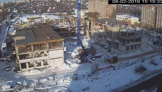 Строители приступили к возведению третьего этажа в новой школе в Климовске