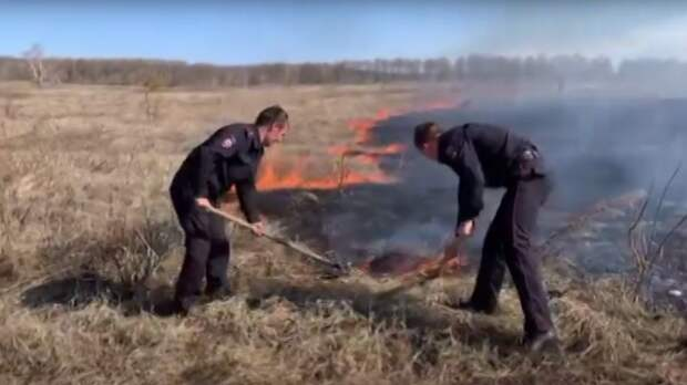 ВТюльганском районе отпожара спасли Технопоселок