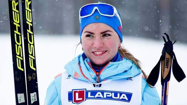 Сливко с 3 промахами выиграла масс-старт на чемпионате России по биатлону