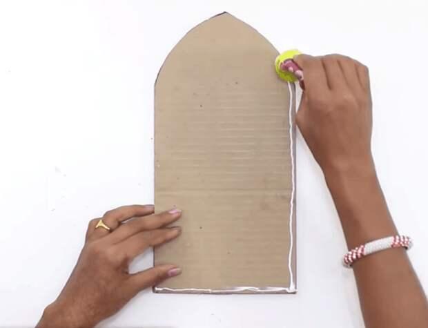 Оригинальная подставка для утюга: просто и со вкусом