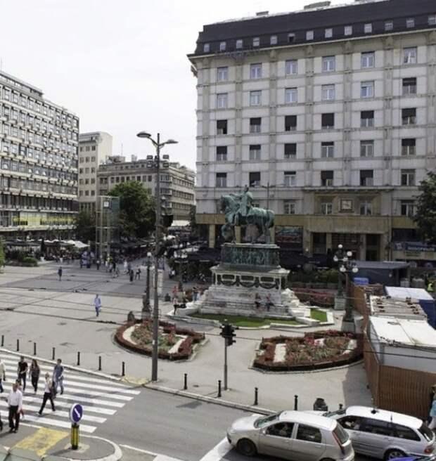 Недовольные введением комендантского часа из-за Covid устроили беспорядки в Сербии