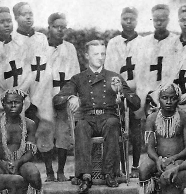 Морис Видал Портман (1860–1935) среди аборигенов Адаманских островов