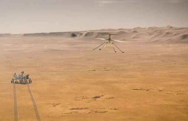 Первый полёт марсианского вертолёта Ingenuity запланирован на 19 апреля