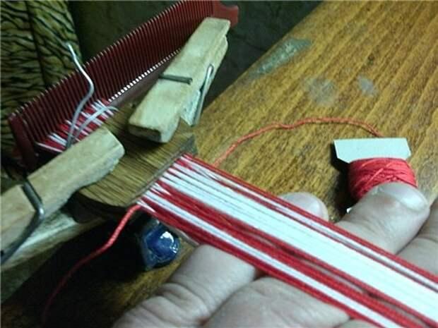 Плетение на дощечках