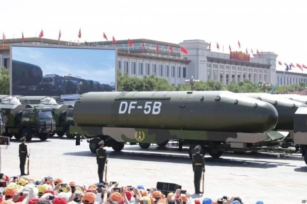 Китайская баллистическая ракета DF-5B