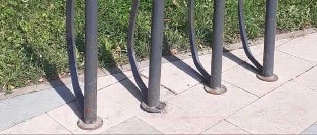 На Строгинский бульвар вернулась велопарковка
