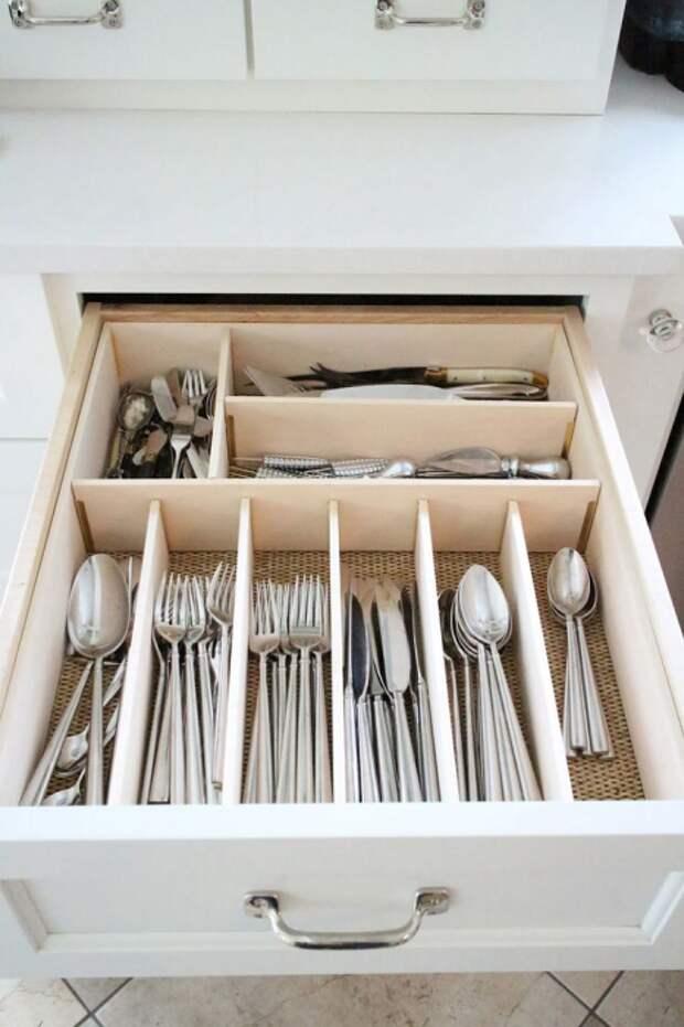 Столовые приборы для приготовления сладкой и соленой пищи должны лежать отдельно. / Фото: medium.com