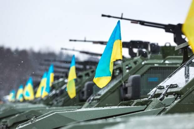 Украина наращивает группировки войск на границе с Россией