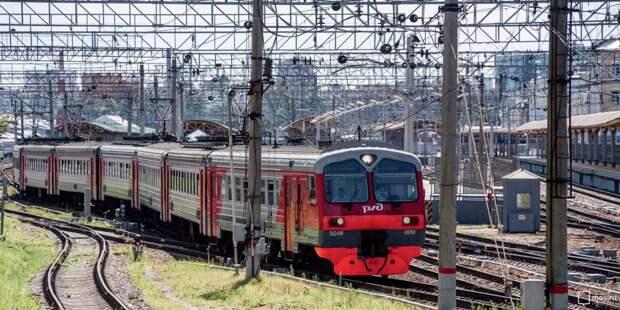 Ряд поездов, следующих через станцию «Беговая», изменят график движения