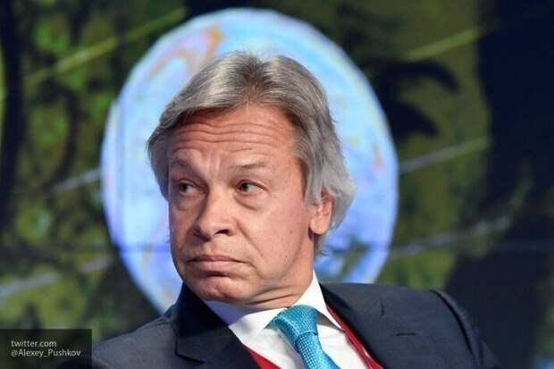 Пушков о скандале с Боррелем: Украина для ЕС - чемодан без ручки