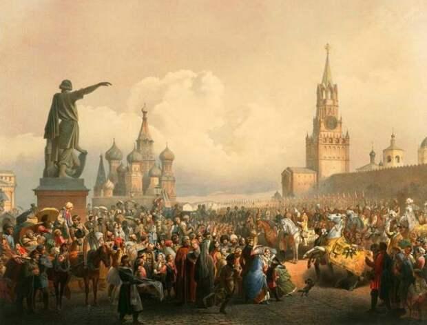 Русский глобальный проект и восстановление русской империи