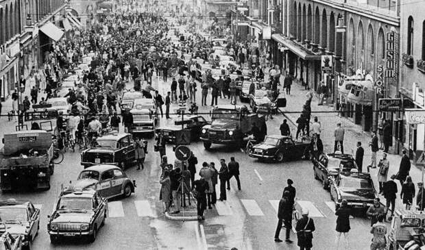 День, который изменил Швецию: как страна за 1 ночь перешла на правостороннее движение