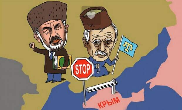 Высокая явка в Крыму на референдуме по Конституции РФ заставила меджлисовцев забиться в истерике