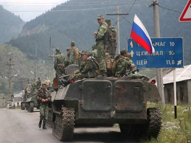 """Операция """"Принуждение к миру"""", российские военные, Южная Осетия, 2008 г. Источник изображения:"""