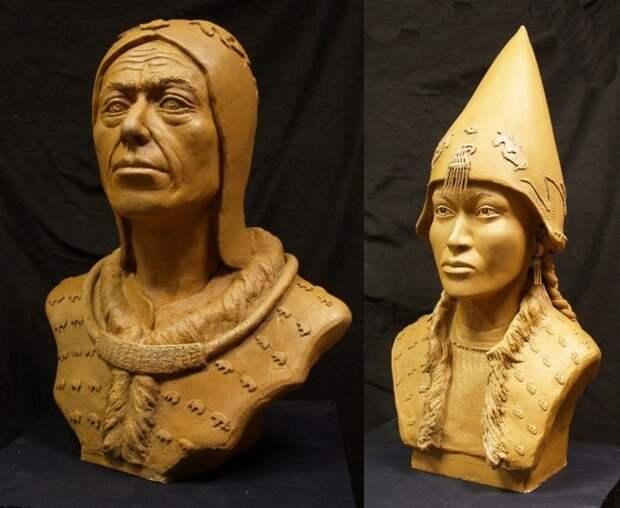 Российские ученые показали лицо скифского царя