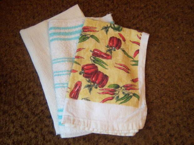 УЗЕЛОК НА ПАМЯТЬ. Как постирать кухонные полотенца