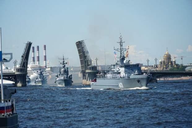 Сегодня праздник ВМФ России. Главный военно-морской парад пройдет в Петербурге и Кронштадте