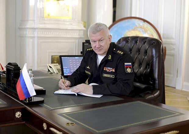 Главнокомандующий ВМФ России подвел итоги межвидового командно-штабного учения на Северном флоте