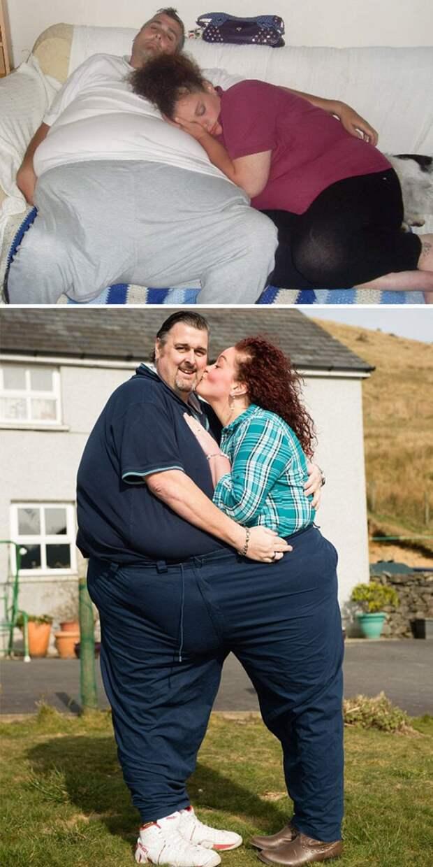 Они познакомились в клинике похудения, где расстались более чем с 210 кило на двоих! диета, лишний вес, похудение