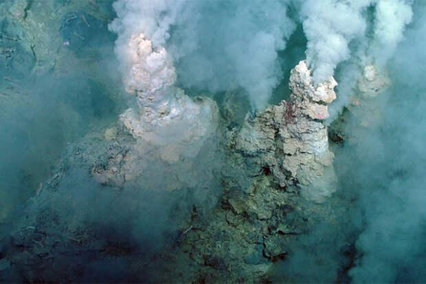 Подводные вулканы