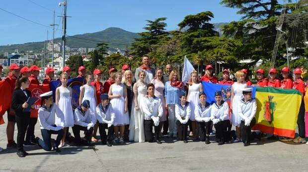 Участники похода «Юнармейская миля-2021» прибыли в Ялту